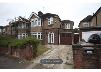 Thumbnail 3 bed semi-detached house to rent in Fountains Road, Luton