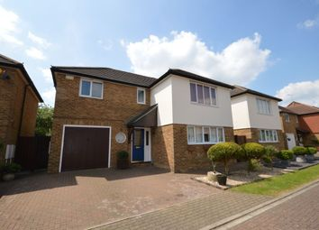 Thumbnail 4 bedroom detached house for sale in Hilton Close, Stevenage