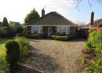 Thumbnail 3 bed detached bungalow for sale in Hall Road, Framingham Earl, Norwich