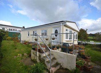 Thumbnail 2 bedroom mobile/park home for sale in Woodlands Park, Tedburn St. Mary, Exeter, Devon