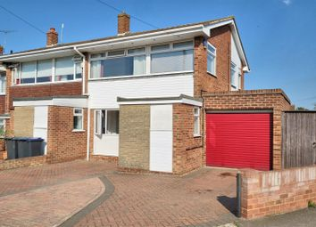 Thumbnail 3 bedroom semi-detached house for sale in Fletcher Road, Whitstable