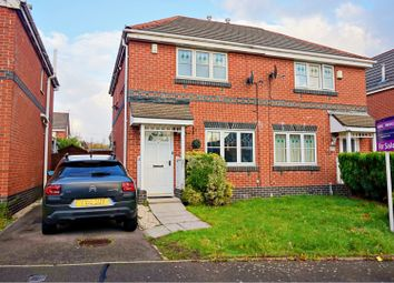 Thumbnail 2 bed semi-detached house for sale in Carville Road, Manchester