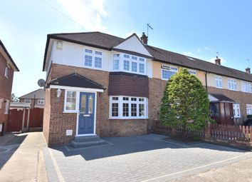 Thumbnail 3 bed end terrace house for sale in Swan Avenue, Upminster
