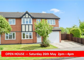 Thumbnail 4 bed semi-detached house for sale in Foston Gate, Wigston Harcourt, Leicester
