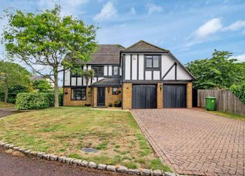 Thumbnail 5 bed detached house for sale in Kerris Way, Earley, Reading