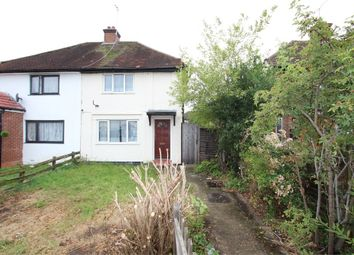 Thumbnail 3 bed semi-detached house to rent in Orchard Way, Ashford, Surrey