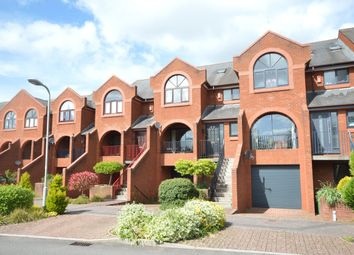 Thumbnail 4 bed terraced house for sale in Old Mill Close, St. Leonards, Exeter