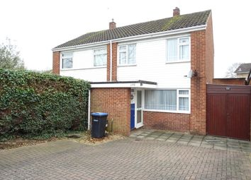 Thumbnail 3 bed semi-detached house for sale in Chertsey Road, Addlestone