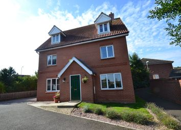 Thumbnail 5 bed detached house to rent in Chaffinch Road, Bury St Edmunds