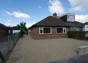 Thumbnail 2 bed bungalow for sale in Longfields Road, Thorpe St Andrew, Norwich