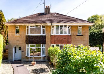 Thumbnail 3 bedroom semi-detached house for sale in Entry Hill Gardens, Bath