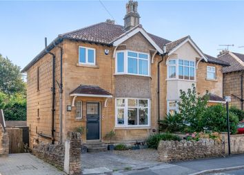 Thumbnail 3 bed semi-detached house for sale in St. Johns Road, Bathwick, Bath, Somerset