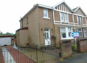 Thumbnail 4 bedroom semi-detached house for sale in Carradale Street, Coatbridge
