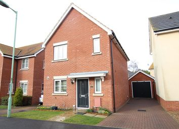 Thumbnail 3 bed detached house for sale in Plummers Dell, Great Blakenham, Ipswich, Suffolk