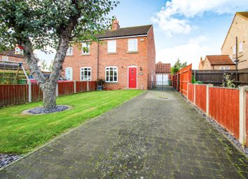 Thumbnail 3 bed semi-detached house for sale in East Ferry Road, Wildsworth, Gainsborough