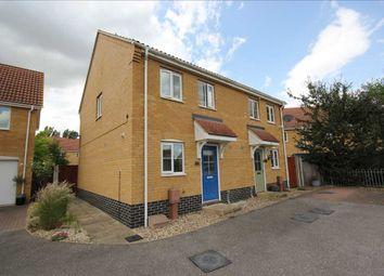 Thumbnail 2 bed semi-detached house for sale in Topsfield, Great Cornard, Sudbury
