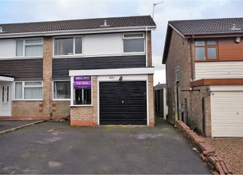 Thumbnail 3 bedroom semi-detached house for sale in Stroud Avenue, Willenhall