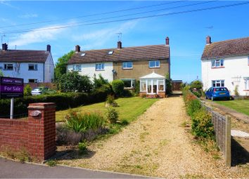 Thumbnail 3 bed semi-detached house for sale in East End, Grantham
