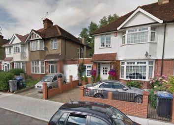 Thumbnail 1 bedroom flat to rent in Elmstead Avenue, Wembley