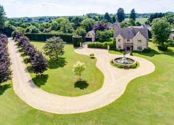 Thumbnail 8 bed detached house for sale in Claydon, Lechlade, Gloucestershire