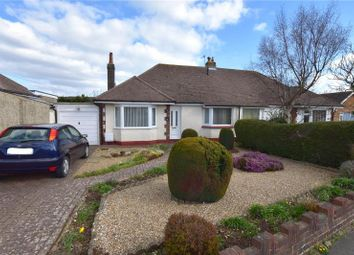 Thumbnail 3 bed semi-detached bungalow for sale in Greet Road, Lancing, West Sussex