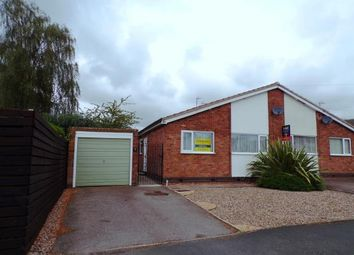 Thumbnail 2 bed bungalow for sale in Coleman Road, Fleckney, Leicester, Leicestershire