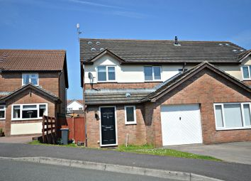 Thumbnail 3 bed semi-detached house for sale in Pensarn Way, Henllys, Cwmbran