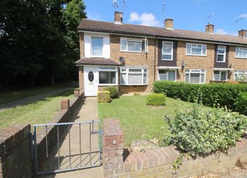 Thumbnail 3 bed end terrace house for sale in Sherwood Walk, Crawley