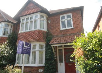 Thumbnail 3 bed semi-detached house to rent in Limes Road, Weybridge, Surrey