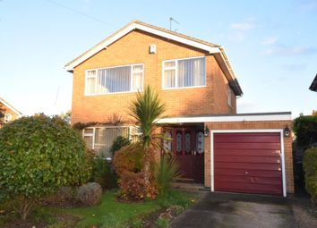 Thumbnail 3 bed detached house for sale in Ellastone Gardens, Alvaston, Derby