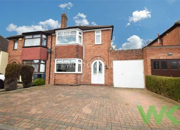 Thumbnail 3 bed semi-detached house for sale in Charlemont Avenue, West Bromwich, West Midlands