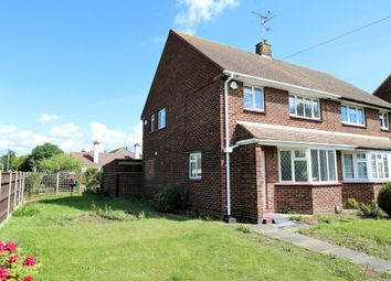 Thumbnail 3 bedroom semi-detached house for sale in Elm Road, Shoeburyness, Southend-On-Sea