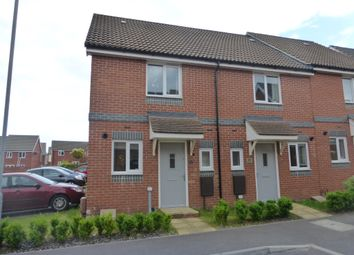 Thumbnail 2 bedroom end terrace house for sale in Crossbill Close, Costessey, Norwich