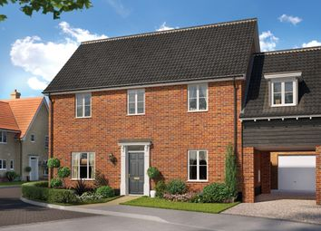 Thumbnail 3 bed detached house for sale in Saxtead Road, Framlingham