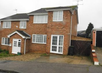 Thumbnail 3 bed semi-detached house for sale in Treeview, Stowmarket