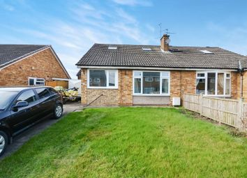 Thumbnail 2 bedroom semi-detached bungalow for sale in 13 Moorfield Way, Wilberfoss, York