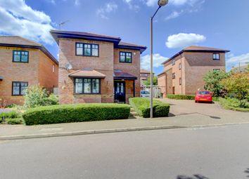 Thumbnail 4 bed detached house for sale in Garthwaite Crescent, Shenley Brook End, Milton Keynes