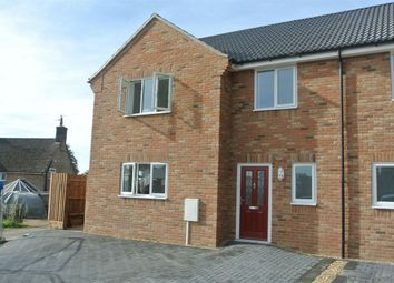 Thumbnail 4 bedroom semi-detached house for sale in Nene Close, Wansford, Peterborough, Cambridgeshire