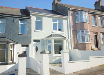 Thumbnail 3 bedroom terraced house to rent in Fisher Road, Stoke, Plymouth