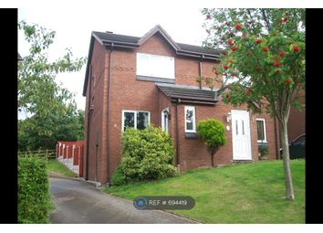 Thumbnail 2 bed semi-detached house to rent in Northop Close, Connah's Quay