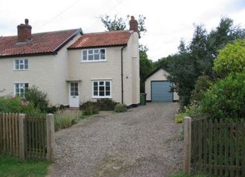 Thumbnail 3 bed semi-detached house to rent in The Common, Scole, Diss