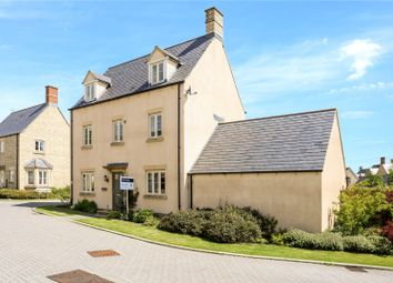 Thumbnail 5 bed detached house for sale in Beecham Close, Cirencester
