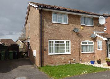 Thumbnail 2 bed semi-detached house for sale in Little Meadow, Bradley Stoke, Bristol