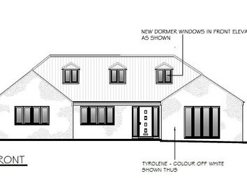 Thumbnail 4 bed detached bungalow for sale in Eastgate, Sleaford, Lincolnshire