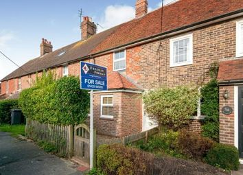Thumbnail 2 bedroom terraced house for sale in Rocklands Cottages, Victoria Road, Herstmonceux, Hailsham
