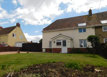 Thumbnail 3 bedroom semi-detached house for sale in Recreation Road, Stowmarket