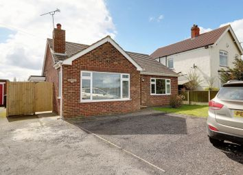 Thumbnail 2 bed detached bungalow for sale in Scawby Road, Scawby Brook, Brigg