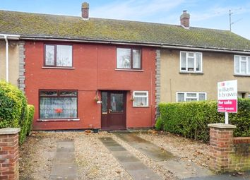 Thumbnail 3 bedroom terraced house for sale in St. Michaels Avenue, Wisbech