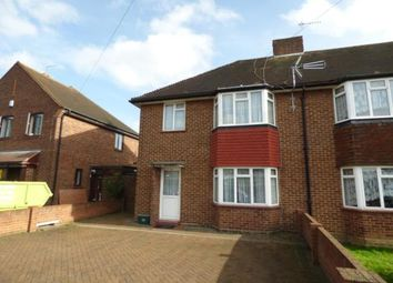 Thumbnail 3 bed semi-detached house for sale in Hurst Drive, Waltham Cross, Hertfordshire