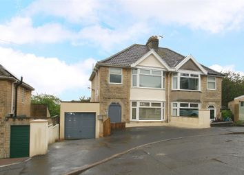 Thumbnail 3 bed semi-detached house for sale in Rowacres, Bath